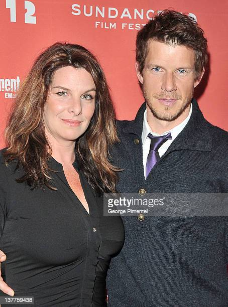 Ivy Sherman and actor Eric Mabius attend the Price Check premiere during the 2012 Sundance Film Festival held at Eccles Center Theatre on January 25...