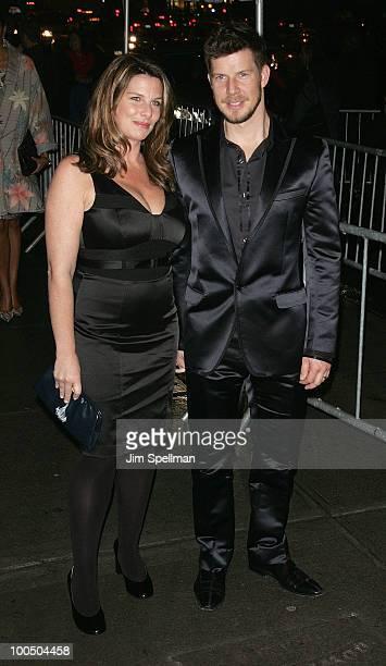 Ivy Sherman and Eric Mabius attend The Cinema Society DG screening of The Twilight Saga New Moon at Landmark's Sunshine Cinema on November 19 2009 in...