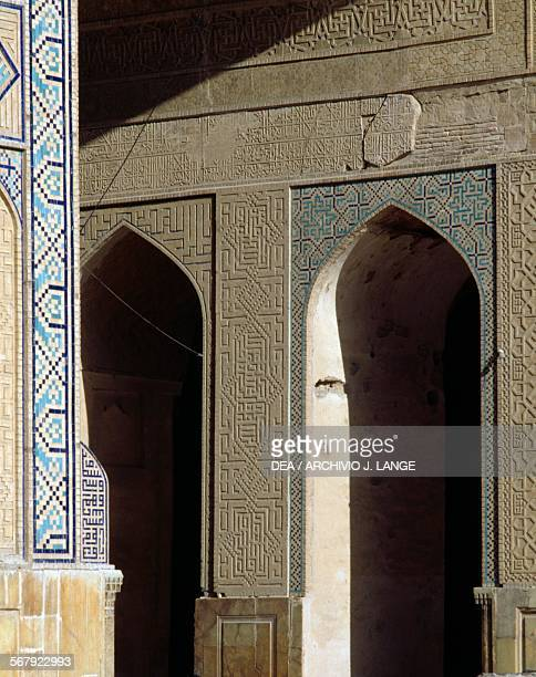 Iwan of the Jameh Mosque Isfahan Iran 12th century