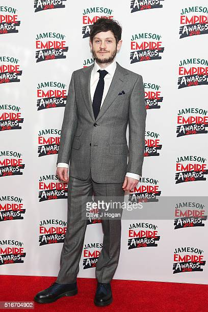 Iwan Rheon attends the Jameson Empire Awards 2016 at The Grosvenor House Hotel on March 20 2016 in London England