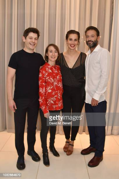 Iwan Rheon Bryony Hannah Heida Reed and Paul Nicholls attend the press night after party for Foxfinder at St Martins Lane Hotel on September 13 2018...