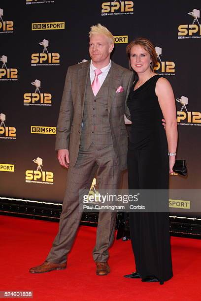 Iwan Thomas and Katharine Merry arrives at the Excel Centre in London for the BBC Sports Personality of the Year Awards 2012 , London. 16 December...