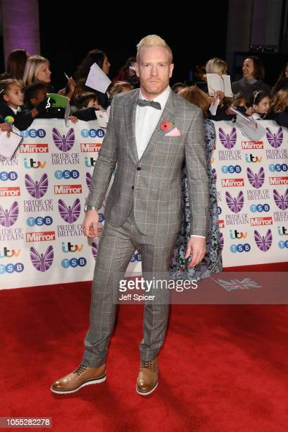 Iwan Thomas attends the Pride of Britain Awards 2018 at The Grosvenor House Hotel on October 29 2018 in London England