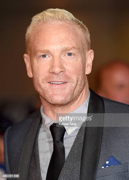 Iwan Thomas attends the Pride of Britain awards at The Grosvenor House Hotel on September 28 2015 in London England