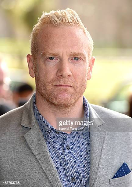 Iwan Thomas attends the TRIC Awards at Grosvenor House Hotel on March 10 2015 in London England