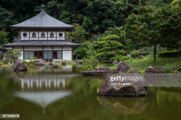 Iwaya Park is most well known in Minami Kyushu as a campground and local spot of scenic beauty There is a pavilion beside the pond called...