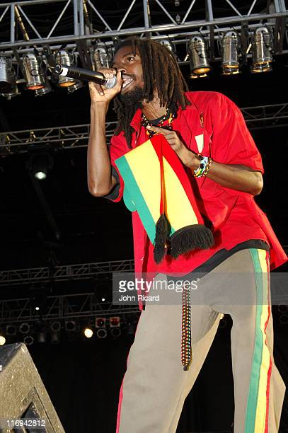 IWayne during Guinness 8th Annual Reggae CariFest 2005 at Randall's Island Park in New York City New York United States