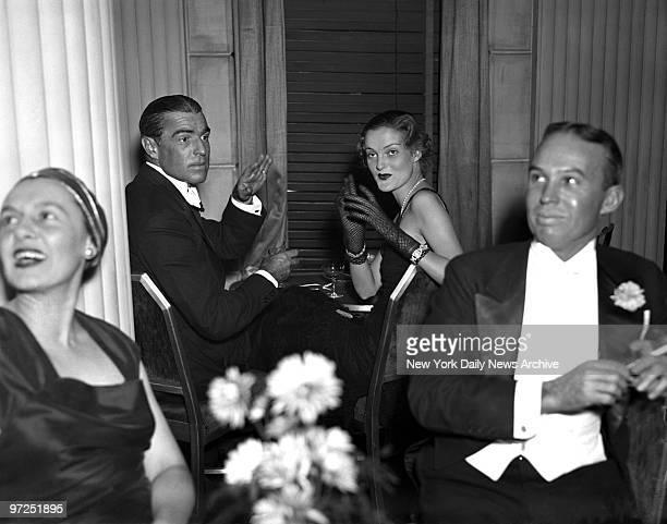 DUKE DORIS Ixnay say M Dorland Doyle and Doris Duke tobacco heiress making frantic wigwag signals at photographer but all in vain Click went camera's...