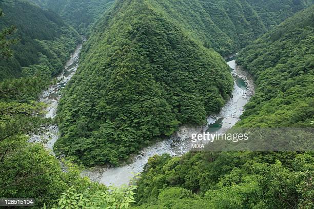 Iya Valley, Miyoshi, Tokushima, Japan