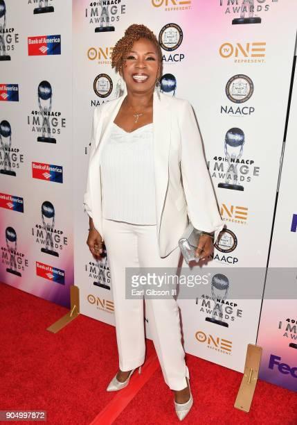 Iyanla Vanzant at the 49th NAACP Image Awards NonTelevised Awards Dinner at the Pasadena Conference Center on January 14 2018 in Pasadena California