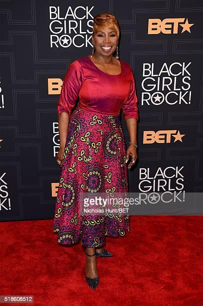 Iyanla Vanzant attends Black Girls Rock 2016 on April 1 2016 in New York City