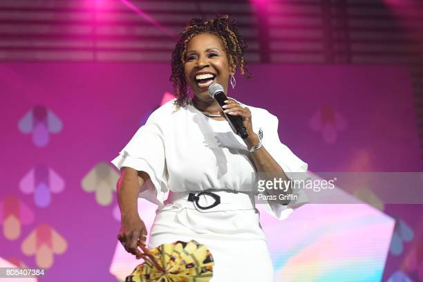 Iyanla Vanzant speaks onstage at the 2017 ESSENCE Festival presented by CocaCola at Ernest N Morial Convention Center on July 1 2017 in New Orleans...