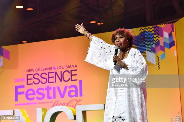 Iyanla Vanzant speaks onstage during the 2018 Essence Festival presented by CocaCola at Ernest N Morial Convention Center on July 7 2018 in New...