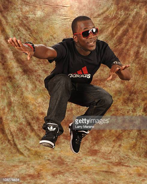 COVERAGE*** Iyaz poses during a photo session at the Y100 studios on August 6 2010 in Miami Florida