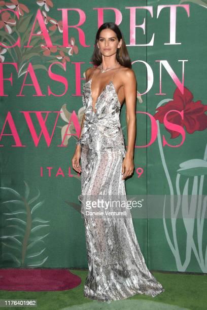 Izabel Goulard attends the Green Carpet Fashion Awards during the Milan Fashion Week Spring/Summer 2020 on September 22 2019 in Milan Italy