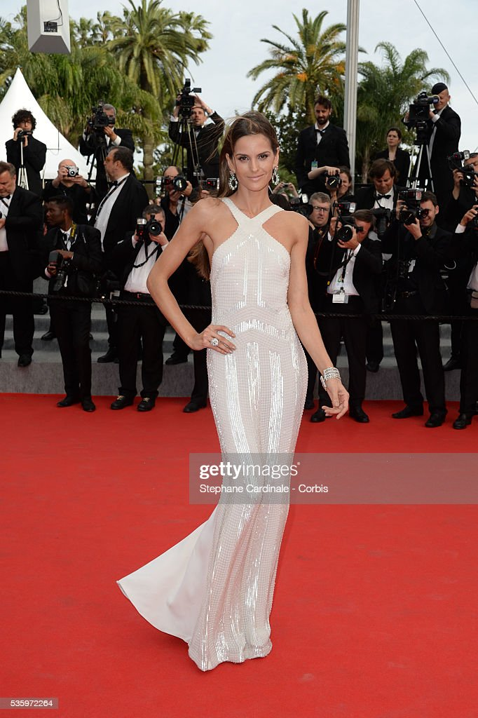 Izabel Goulart at the 'The Search' Premiere during 67th Cannes Film Festival