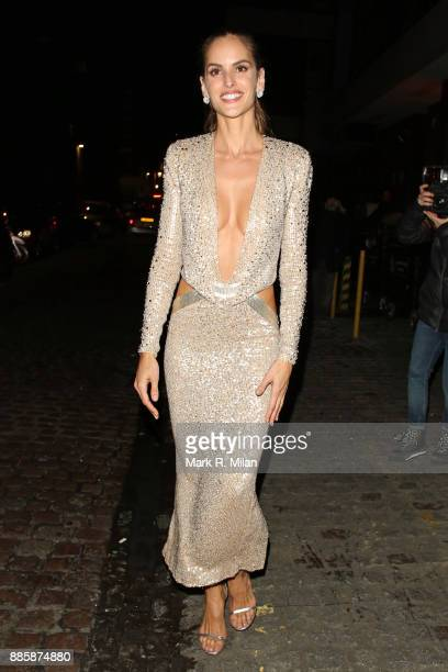 Izabel Goulart attending The British Fashion Awards on December 3 2017 in London England