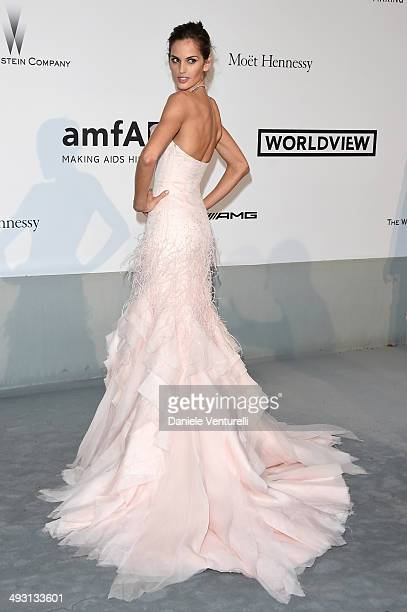 Izabel Goulart attends amfAR's 21st Cinema Against AIDS Gala Presented By WORLDVIEW BOLD FILMS And BVLGARI at Hotel du CapEdenRoc on May 22 2014 in...