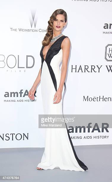 Izabel Goulart attends amfAR's 22nd Cinema Against AIDS Gala Presented By Bold Films And Harry Winston at Hotel du CapEdenRoc on May 21 2015 in Cap...