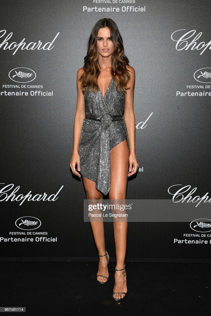 Izabel Goulart attends Chopard Secret Night during the 71st annual Cannes Film Festival at Chateau de la Croix des Gardes on May 11, 2018 in Cannes, France.