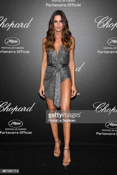 Izabel Goulart attends Chopard Secret Night during the 71st annual Cannes Film Festival at Chateau de la Croix des Gardes on May 11 2018 in Cannes...