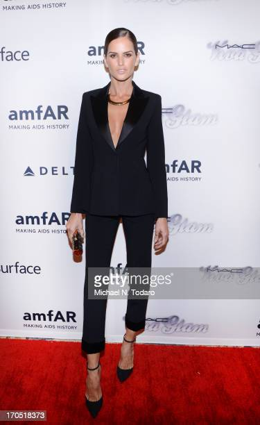 Izabel Goulart attends the 4th Annual amfAR Inspiration Gala New York at The Plaza Hotel on June 13 2013 in New York City