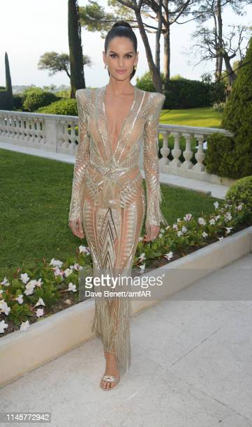 Izabel Goulart attends the amfAR Cannes Gala 2019 at Hotel du Cap-Eden-Roc on May 23, 2019 in Cap d'Antibes, France.