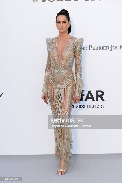 Izabel Goulart attends the amfAR Cannes Gala 2019>> at Hotel du Cap-Eden-Roc on May 23, 2019 in Cap d'Antibes, France.