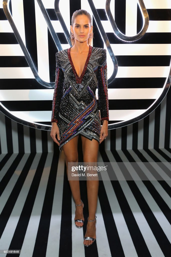 Izabel Goulart attends the Brits Awards 2018 After Party hosted by Warner Music Group, Ciroc and British GQ at Freemasons Hall on February 21, 2018 in London, England.