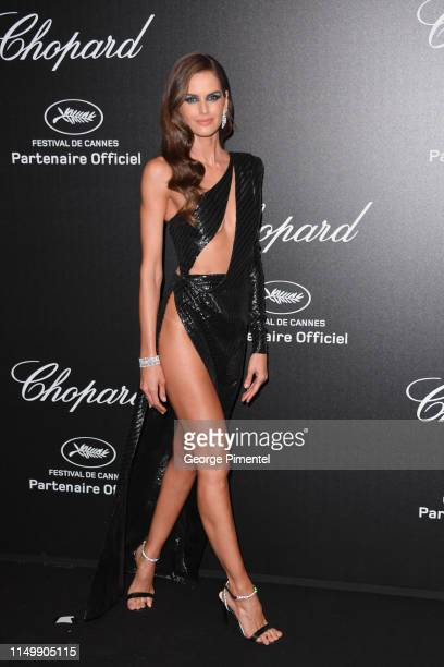 Izabel Goulart attends the Chopard Party during the 72nd annual Cannes Film Festival on May 17, 2019 in Cannes, France.