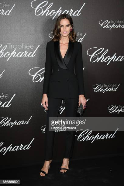 Izabel Goulart attends the Chopard Trophy photocall at Hotel Martinez on May 22 2017 in Cannes France