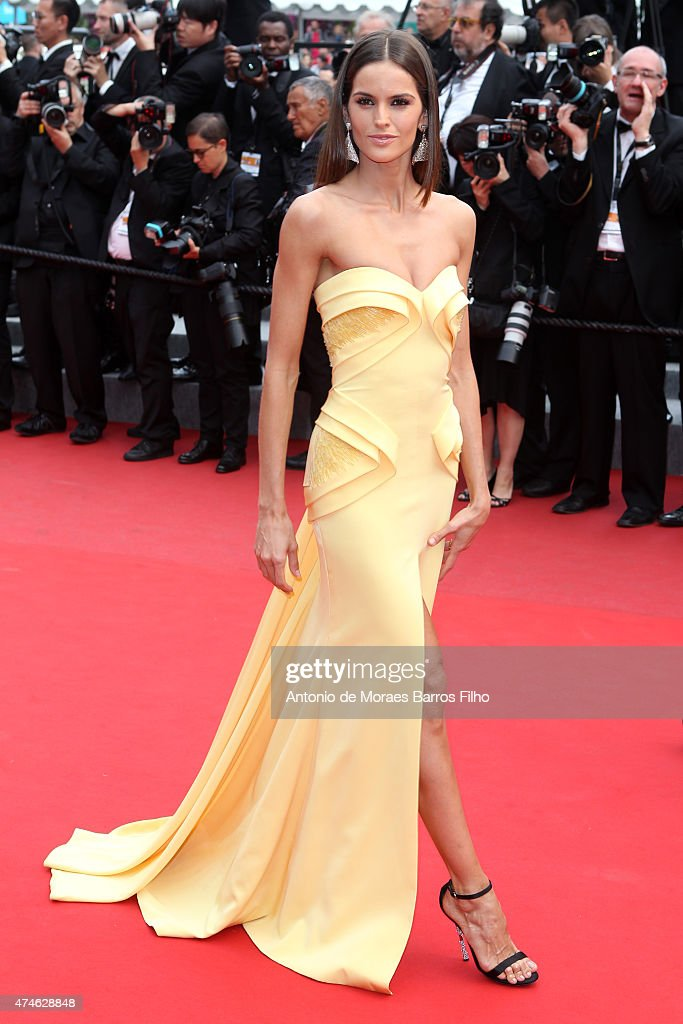 Izabel Goulart attends the closing ceremony and 'Le Glace Et Le Ciel' ('Ice And The Sky') premiere during the 68th annual Cannes Film Festival on May 24, 2015 in Cannes, France.