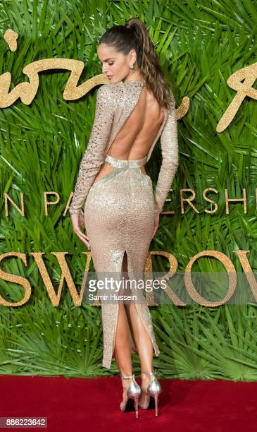 Izabel Goulart attends The Fashion Awards 2017 in partnership with Swarovski at Royal Albert Hall on December 4 2017 in London England