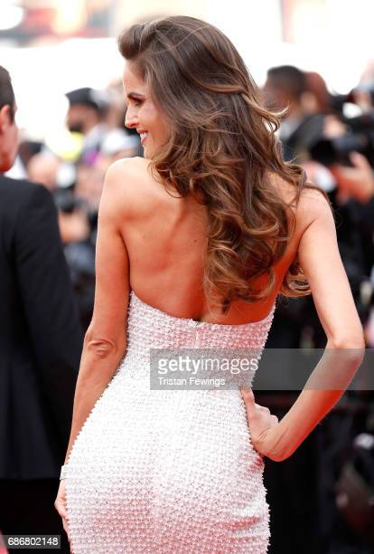 Izabel Goulart attends 'The Killing Of A Sacred Deer' premiere during the 70th annual Cannes Film Festival at Palais des Festivals on May 22 2017 in...