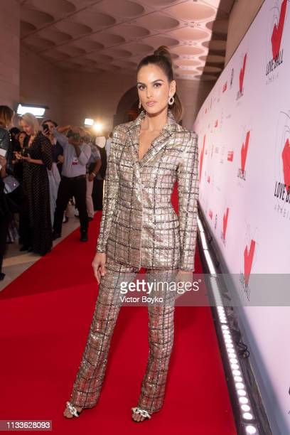 Izabel Goulart attends the Love Ball in aid of the Naked Heart Foundation and Al Shafallah at Museum of Islamic Art on March 29 2019 in Doha Qatar