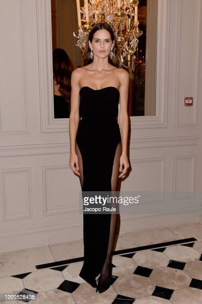 Izabel Goulart attends the Monot show as part of the Paris Fashion Week Womenswear Fall/Winter 2020/2021 on February 29 2020 in Paris France
