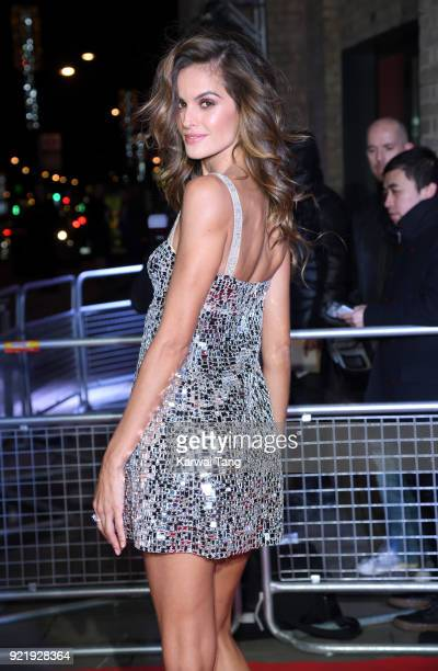 Izabel Goulart attends the Naked Heart Foundation's Fabulous Fund Fair during London Fashion Week February 2018 at the Roundhouse on February 20 2018...