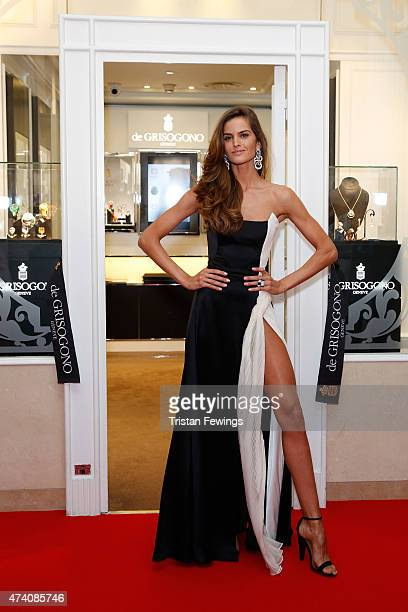 Izabel Goulart attends the opening of the De Grisogono store during the 68th annual Cannes Film Festival on May 20, 2015 in Cannes, France.
