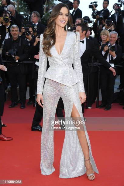 "Izabel Goulart attends the screening of ""Rocketman"" during the 72nd annual Cannes Film Festival on May 16, 2019 in Cannes, France."