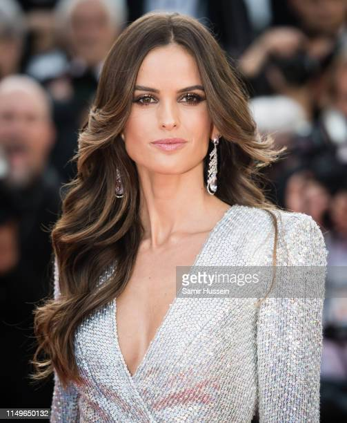 Izabel Goulart attends the screening of Rocketman during the 72nd annual Cannes Film Festival on May 16 2019 in Cannes France