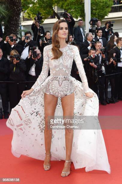 Izabel Goulart attends the screening of 'Sink Or Swim ' during the 71st annual Cannes Film Festival at Palais des Festivals on May 13 2018 in Cannes...