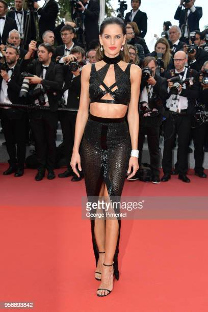 Izabel Goulart attends the screening of 'Solo A Star Wars Story' during the 71st annual Cannes Film Festival at Palais des Festivals on May 15 2018...