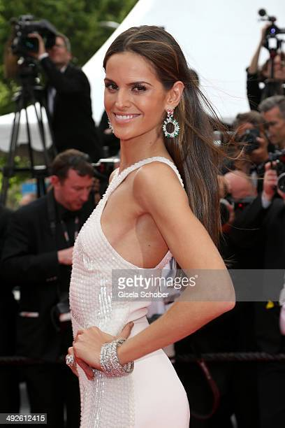 Izabel Goulart attends 'The Search' premiere during the 67th Annual Cannes Film Festival on May 21 2014 in Cannes France