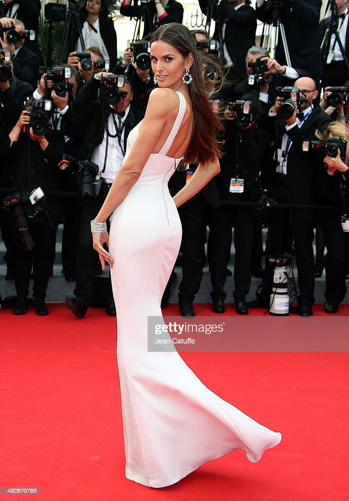 Izabel Goulart attends 'The Search' premiere during the 67th Annual Cannes Film Festival on May 21, 2014 in Cannes, France.