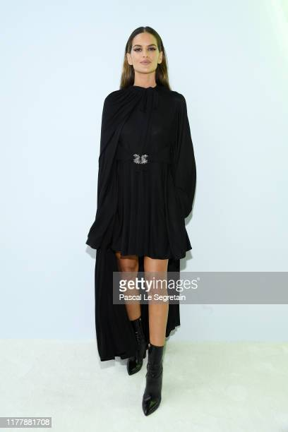 Izabel Goulart attends the Valentino Womenswear Spring/Summer 2020 show as part of Paris Fashion Week on September 29, 2019 in Paris, France.