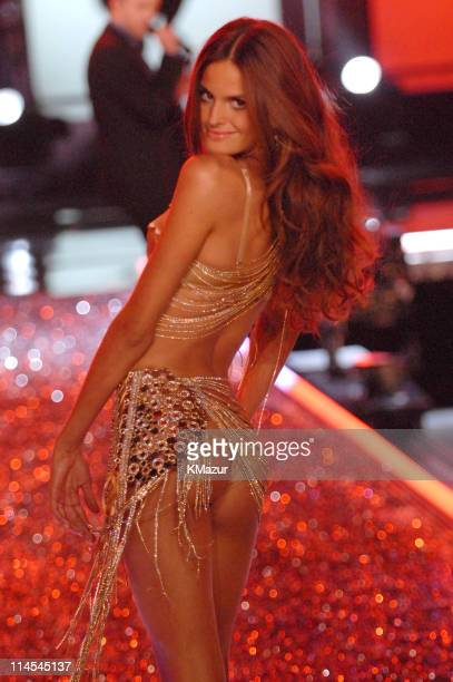 Izabel Goulart during 11th Victoria's Secret Fashion Show Runway at Kodak Theatre in Hollywood CA United States