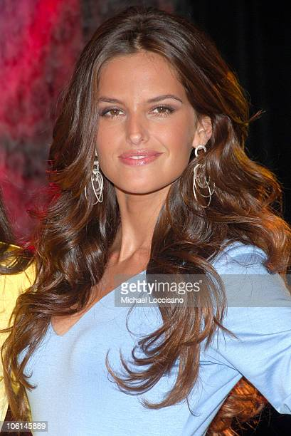 Izabel Goulart during Victoria's Secret Launches All New Secret Embrace Collection at Victoria' Secret Store Herald Square in New York City New York...