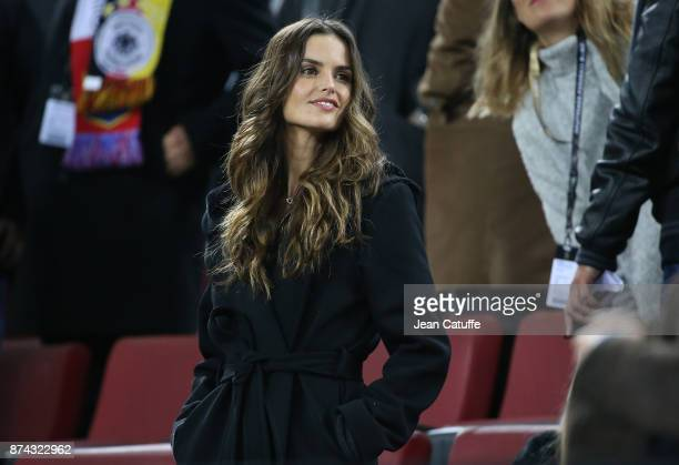 Izabel Goulart girlfriend of goalkeeper of Germany Kevin Trapp attends the international friendly match between Germany and France at...