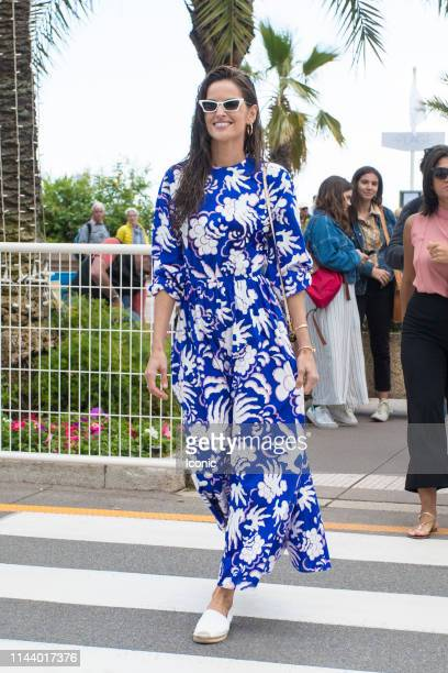 Izabel Goulart is seen at the 72nd annual Cannes Film Festival on May 15 2019 in Cannes France