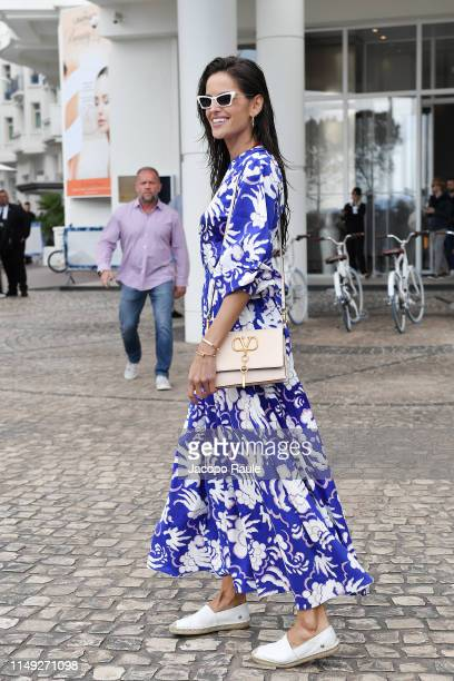 Izabel Goulart is seen during the 72nd annual Cannes Film Festival at on May 15, 2019 in Cannes, France.